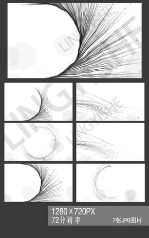 中國風水墨紋理背景圖片
