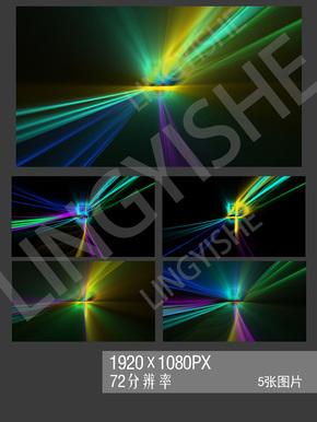 炫酷光效JPG背景图片