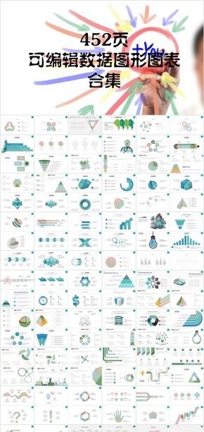 452可编辑数据图形图表