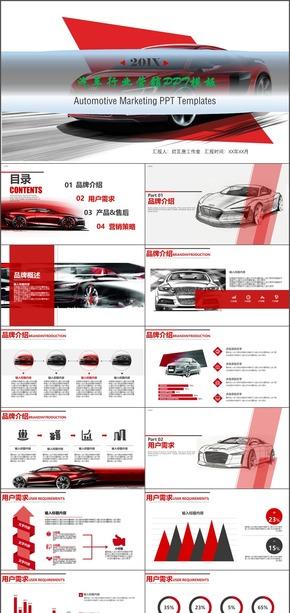 汽车营销通用PPT模板