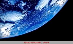 超高清藍色地球矢量圖