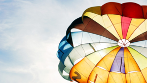 热气球背景图