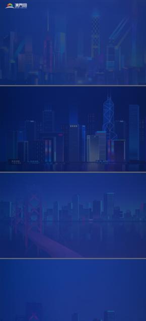 城市 都市 背景圖 商務 大氣6張
