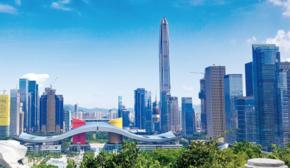 深圳平安大廈全景圖
