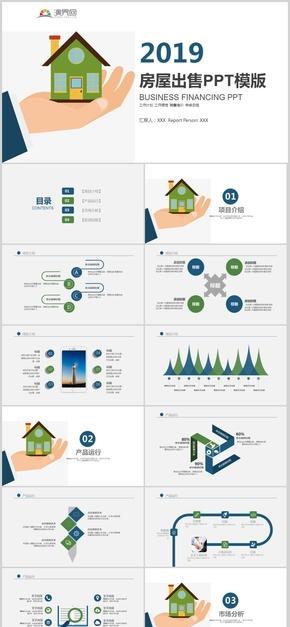 房地产阶段执行方案计划工作计划工作报告销售培训年终总结项目计划工程总结PPT模板