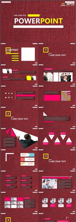 紫色商务报告工作报告新年工作计划工作总结实用PPT模板94