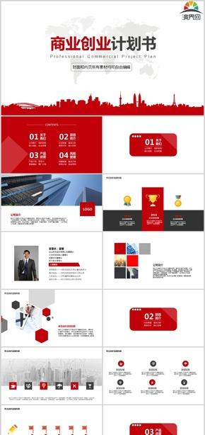 大气红创业商业计划书