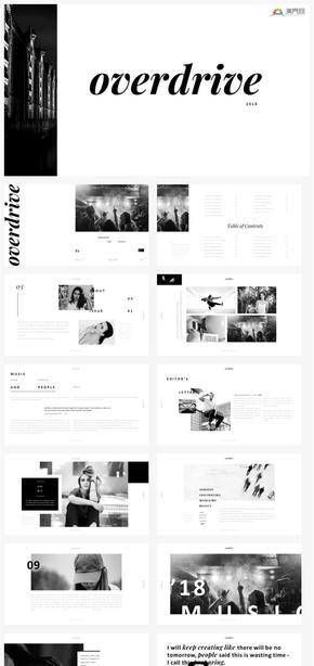 【冷淡】黑白时尚设计高端冷淡风简约创意工作汇报策划提案ppt模板