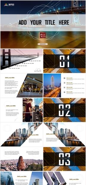 【七點滴】大氣動感小清晰攝影廣告旅游藝術雜志模板