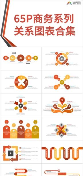 65页商务系列关系图表合集