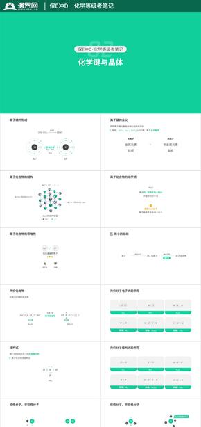 【上海化学等级考】保E冲D·化学键与晶体(知识点整理)