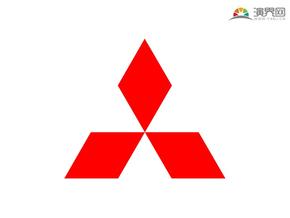 三菱汽车 品牌标志 车标logo 矢量图标 免抠元素