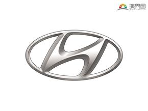 现代汽车 品牌标志 车标logo 矢量图标 免抠元素