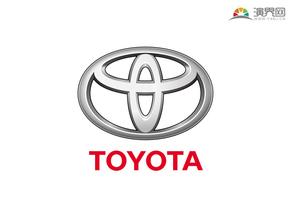 丰田汽车 品牌标志 车标logo 矢量图标 免抠元素
