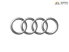 奥迪汽车 品牌标志 车标logo 矢量图标 免抠元素