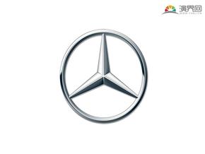 戴姆勒 梅赛德斯 奔驰汽车 品牌标志 车标logo 矢量图标 免抠元素