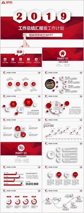 人力资源部年度总结报告模板