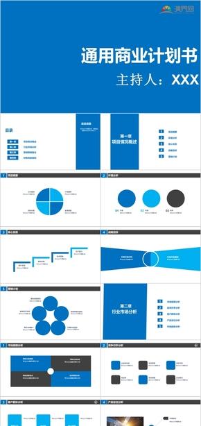 商業策劃PPT模板