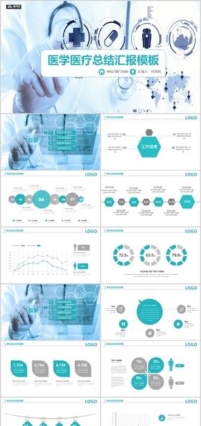 醫學醫療總結匯報模板