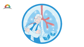 2020年藍色插畫醫療健康發冷顫抖矢量圖