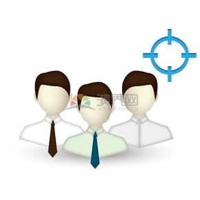 商業團隊合作商業圖標矢量素材