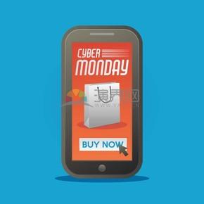 周一促销优惠半价图标素材