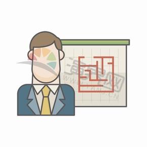 简约卡通图标商业创意元素创意设计