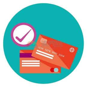 红色银行卡信用卡