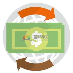 趣味活泼简约清新金融商业货币流通卡通图标