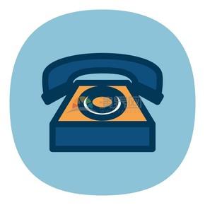 商業電話商業圖標矢量素材