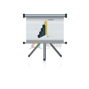 销售计划成功商业图标矢量素材
