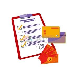清单购物券银行卡信用卡