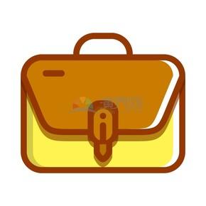 商业办公元素黄色商务包