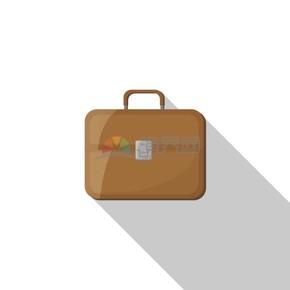 卡通商业金融棕色商务包办公用品素材
