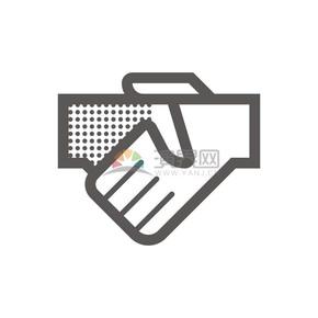 商业合作图标矢量图素材