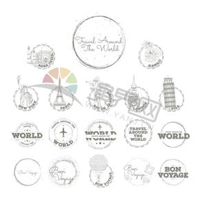 创意设计标志性建筑浪漫有趣世界环球旅行合集