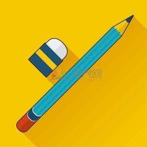 卡通铅笔橡皮擦学习文具