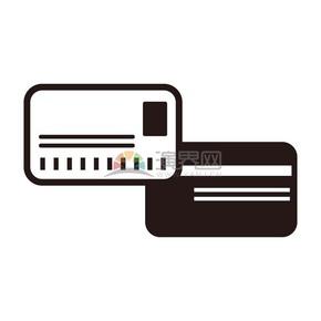 商业卡图标矢量图素材
