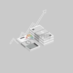 卡通商業金融紙幣素材
