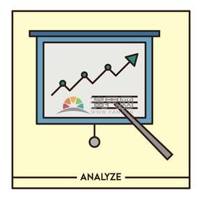 商务图表板子指示展示板