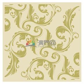古典花紋矢量背景