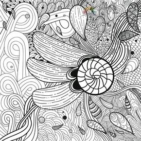 构成花纹线条装饰