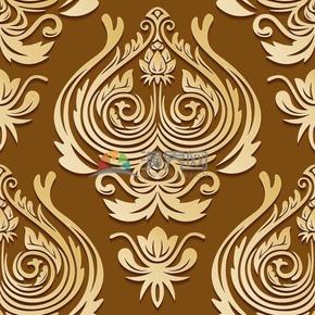 古典花纹矢量背景图