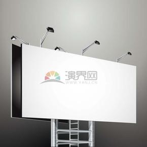 3D黑白灰彩色指示牌指示灯展示牌底框边框