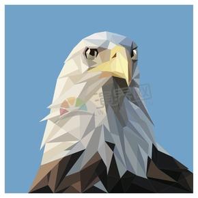 幾何圖形多邊形三角形立體色彩動物老鷹