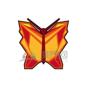 折纸多边形蝴蝶