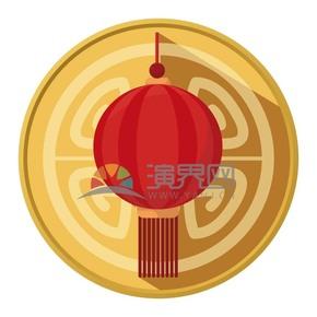 春节喜庆元素灯笼