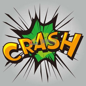 CRASH艺术字