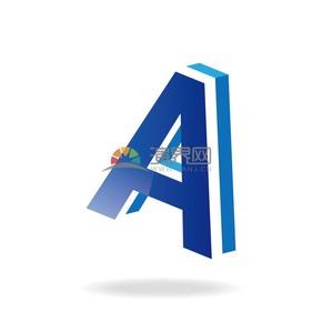 A字立体艺术字
