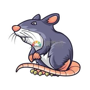 卡通可爱小老鼠素材